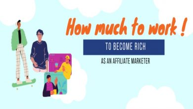 Photo of How much to work to become Rich as an Affiliate Marketer