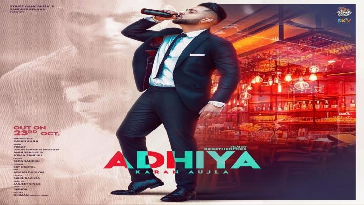 Adhiya Karan Aujla Punjabi New Mp3 Song Download Mrjatt